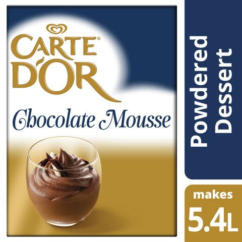 Carte d'Or Chocolate Mousse Sample
