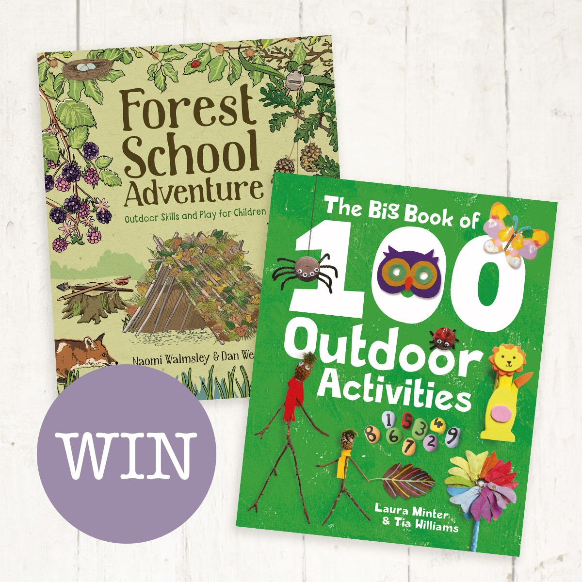 Win Childrens Outdoor Activity Books