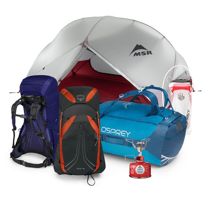 Win Osprey Backpacking Bundle