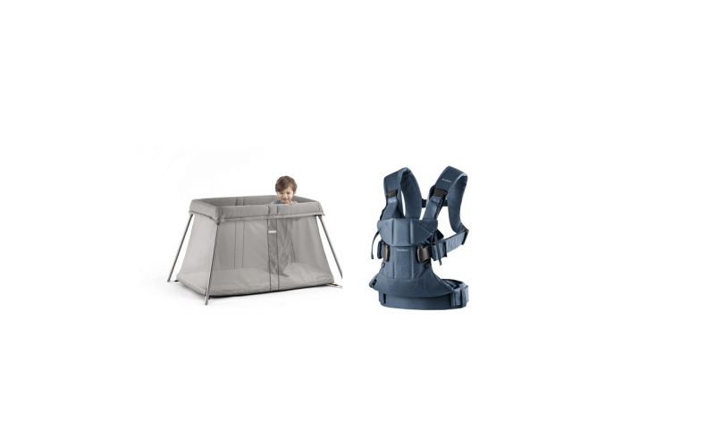 Win a BabyBjörn Travel Cot Easy Go and Carrier One