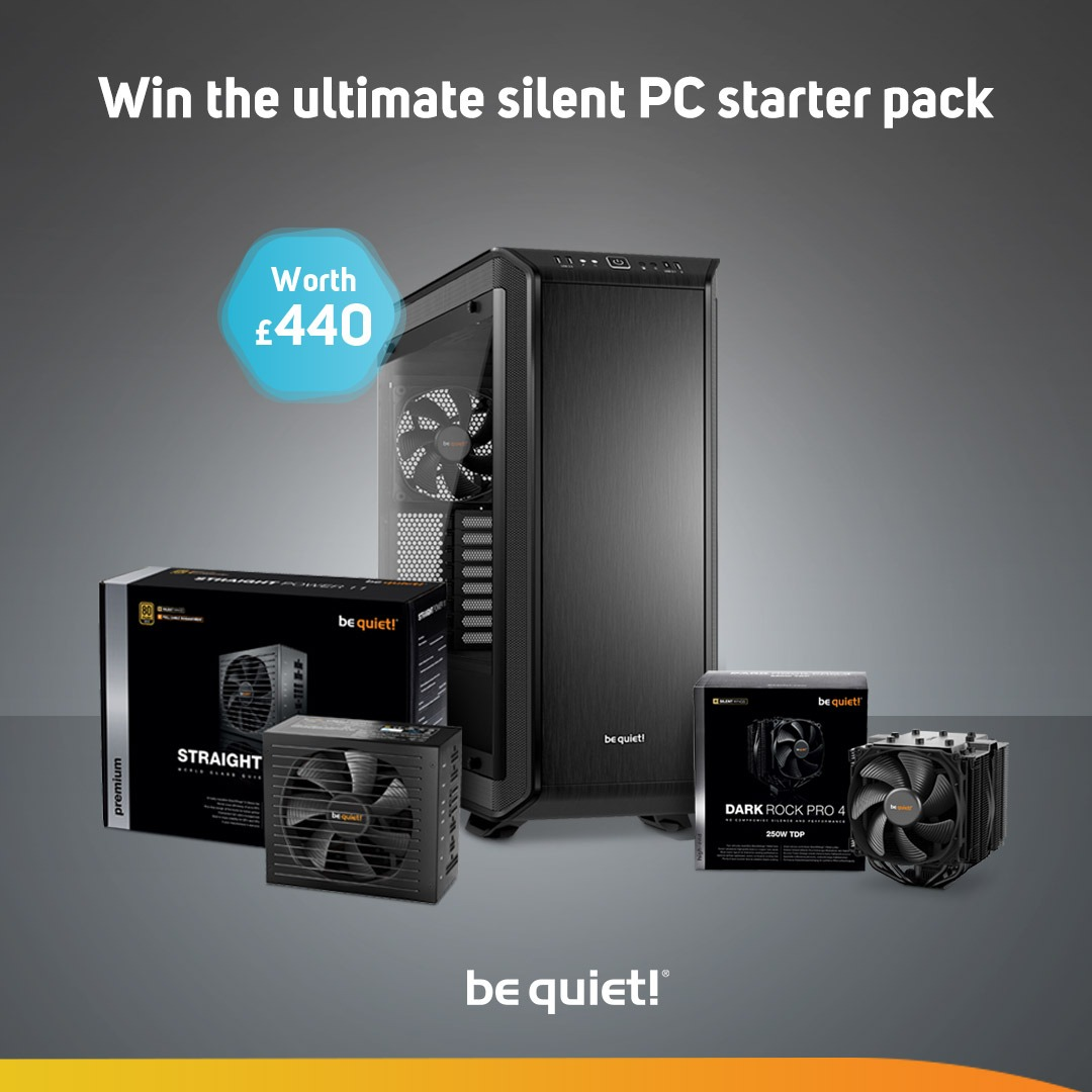 Win a BeQuiet Silent PC Starter Pack