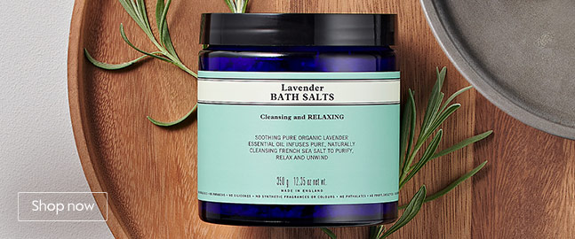 Neal's Yard Remedies bath and body selection