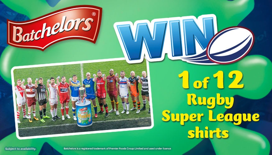 Win Rugby Super League shirts