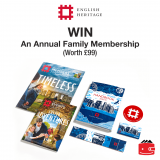 WIN An Annual Family Membership With English Heritage