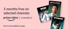 Three Months Free Discovery Channel (Plus MGM, Shudder & BFI Player) – Amazon Prime Members