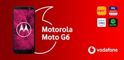 Win a Motorola Moto G6 phone and 12 months entertainment package