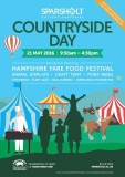 Win a family ticket to Sparsholt Countryside Day on Saturday 12 May 2018.