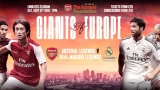 Win tickets to Arsenal Legends v Real Madrid Legends