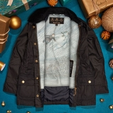 Win Barbour 'The Snowman' Jacket