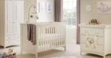 Win Cameo cot bed, mattress and changing station