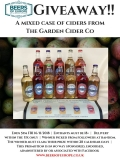 Win a mixed case of ciders