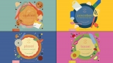 Win four board books from the Cook In A Book series