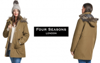 Win a brand new AW18 Four Seasons Caban Coat