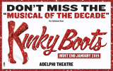 Win tickets to see Kinky Boots in the West End