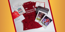 Win a signed shirt, Salah signed key-card, Sturridge signed headrest and MORE