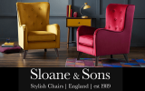 Win £500 to spend at Sloane & Sons stylish chairs
