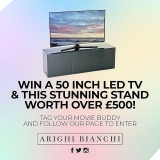 Win A Brand New 50 Inch LED TV & Charcoal Grey Stand (Instagram)