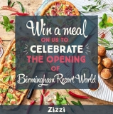 Win a free meal to celebrate the opening of Zizzi Birmingham