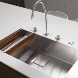 Win a KWC luxury sink, tap, and soap dispenser bundle worth £2996