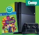 Win a PlayStation 4 and a copy of LEGO DC Super-Villains