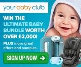 Win the Ultimate UK Baby Prize worth over £2,000!