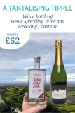 Win a bottle of Bosue Sparkling Wine and Wrecking Coast Gin