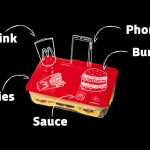 Win McDelivery food tray