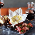 Win wine and charcuterie