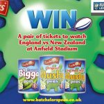Win England vs New Zealand rugby tickets