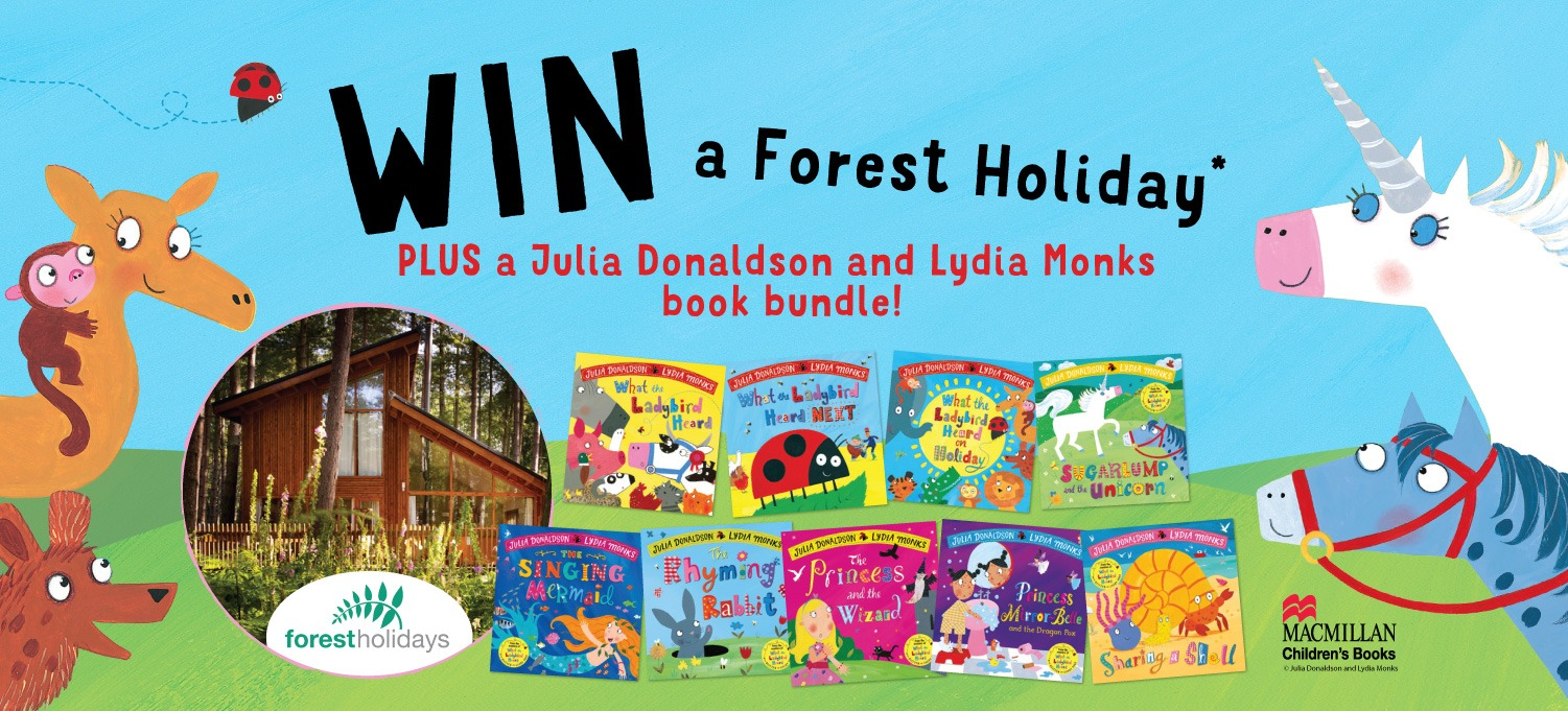 Win Julia Donaldson and Lydia Monks Books