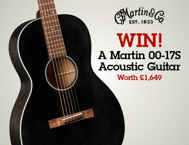 Win a Martin's 00-17S Acoustic Guitar - UK Competition and Freebies