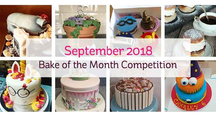 September 2018 Bake of the Month Competition - UK Competition and