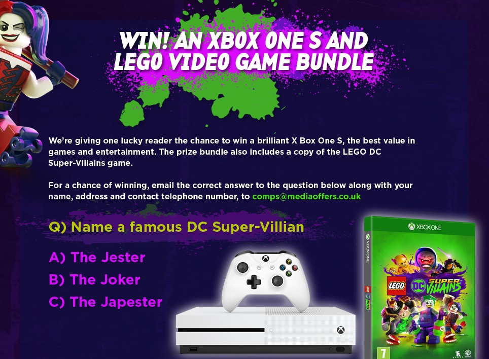 Win XBox One S and Lego