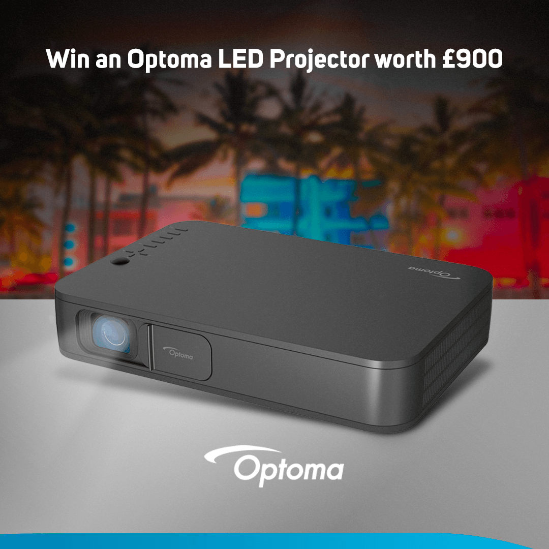 Win a Optoma LH160 LED projector