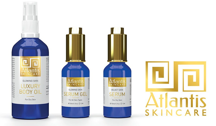 Win Atlantis Skincare products