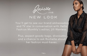 Rochelle Humes Competition