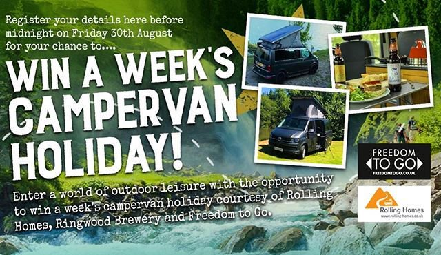 Win a week's Campervan Holiday - UK Competition and Freebies