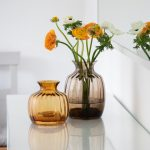 Win Cushion Vase from Dartington Crystal