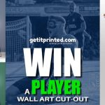 Win a Southend United player wall art print