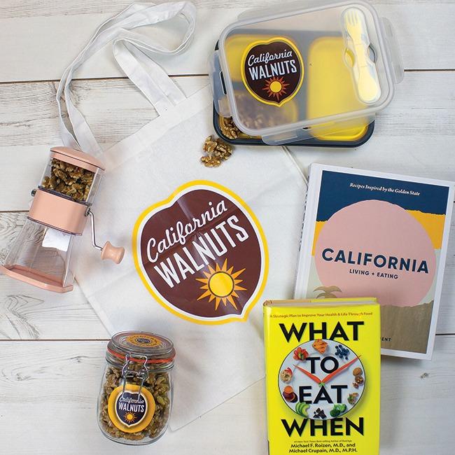 Win California Walnuts Goodies
