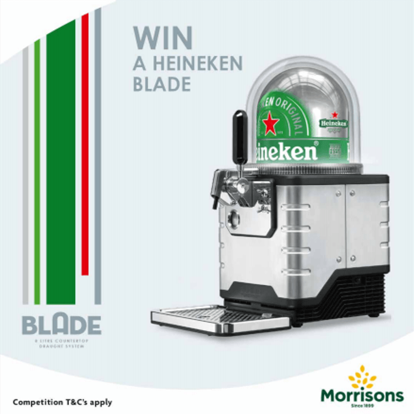 Win Heineken Blade Beer Dispenser