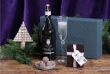 Win an Abel & Cole prosecco & truffle Christmas gift box