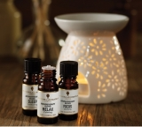 Win Amphora Aromatics' Aromatherapy Blends & A Ceramic Diffuser