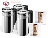 Win a KitchenAid Precision Press Coffee Makers & a pair of Billington's Barista coffee sugars