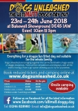 Win tickets to Dogs Unleashed Bakewell 2018