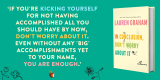 Win Don't Worry About It By Lauren Graham