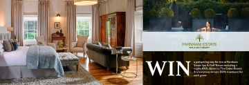 Win a stay for two at Farnham Estate Spa & Golf Resort, Ireland