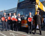 Wear a Poppy and Ride for Free on First West of England Buses this Remembrance Sunday