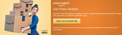 FREE Amazon Prime for UK Students – 6 Months FREE Membership!