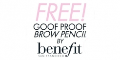 Free Eyebrow Pencil Sample: ELLE Goof Proof Brow Pencil